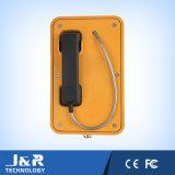 Telefones de Intustrial da transmissão do telefone Emergency Jr105-Fk-LCD de Resitant do vândalo