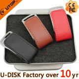 최신 다채로운 가죽 USB 섬광 드라이브 (YT-5101)