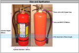 8kg ABC Dry Chemical Powder Fire Extinguishers (MFZL8)