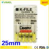 Ental 내향 파일 Dentsply K-Flexo 파일 사이즈 020 25mm