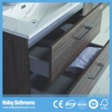 Mobília nova do banheiro do estilo do projeto gama alta moderno da unidade do gabinete do banho do carvalho (BF120M)