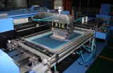 Nice Apparel Labelsのための2つのカラーAutomatic Screen Printing Machine