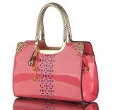 Signora Woman Patent Hobo Handbag dello stilista