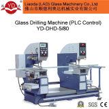 Doppio Holes Drilling Machine per Glass