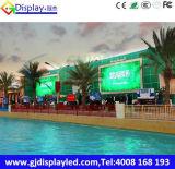 HD impermeabilizan P10 la pantalla de la publicidad al aire libre LED