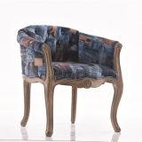 レトロの方法ファブリックソファーの椅子