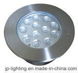 LEIDEN van het roestvrij staal 12W CREE Ondergronds Licht (jp824121-h)