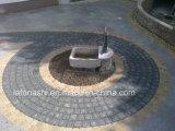 通路、道、景色、私道のための自然な花こう岩の玉石の敷石