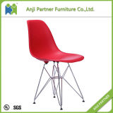 ホーム家具の黒PPのシートおよび鋼鉄フィートの食堂の椅子(ヒース)