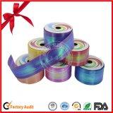 Paquete polivinílico de la cinta de regalo que se encrespa de la laminación brillante del abrigo en caja de presentación