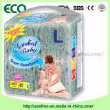 B級の赤ん坊のおむつの安い布はBackhseetの使い捨て可能な赤ん坊のおむつを好む
