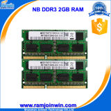 Non RAM Ecc Unbuffered 128MB*8 16chips 2GB DDR3 для компьтер-книжки