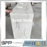 La Cina ha lucidato la pietra bianca artificiale costruita del quarzo per il controsoffitto della cucina