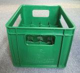Caisse de bouteille à bière de couleur verte