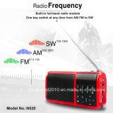 Radio portative avec FM/AV/Sw