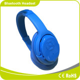 Auriculares sem fio de Bluetooth do esporte com o cartão do SD para o telefone móvel