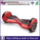 Do balanço elétrico do auto da roda 8inch da venda por atacado 2 diodo emissor de luz elétrico de Bluetooth da placa da tração