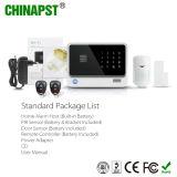 Sistema de alarma sin hilos de WiFi G/M de la seguridad elegante popular (PST-G90B)