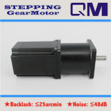 NEMA23 L=77mm Stepper Motor com 1:50 de Gearbox Ratio