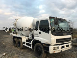 ターボチャージ日本25ton元の10cylinders-10PE1-360HP-EnigneかAftercooledのIsuzuによって使用される具体的なミキサーのトラック
