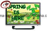 """15.6 """" télévisions de LED un 16:9 d'écran large de panneau de catégorie, C.C 12V/DC 18V/DC 24V, Digitals LED TV disponibles"""