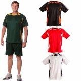 T-shirt de gymnastique de fonctionnement de formation du Jersey de sport de Mens (A479)