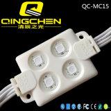 Módulo de calidad superior LED de la señalización SMD5050 3LEDs de la visualización al aire libre
