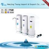 3つの段階のカウンタートップ水フィルター