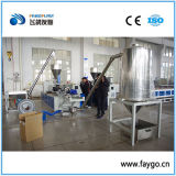 PVC Compounding Granulating Line avec Twint Screw Extruder