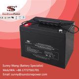 Tipo batería profunda del AGM de la batería 12V 80ah de la potencia VRLA de Sunstone del ciclo
