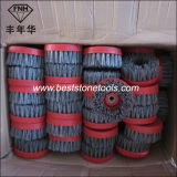 Ss-3 Snail Brush Silicon Carbide Stone Abrasive Polishing Brush