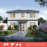 Einfach vorfabriziertes Landhaus-Haus mit Qualität zusammenbauen