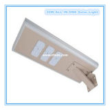 FCC 50W tutto di RoHS del Ce in un indicatore luminoso di via solare del LED per illuminazione esterna
