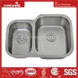 acier inoxydable de pouce 20-7/8X29-5/8 sous le bassin de cuisine de cuvette de double de support