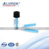 250UL Micro-Inserts para tubos de ensaio de Shimadzu Quality HPLC do tubo de ensaio de 1.5ml Autosampler