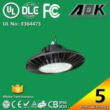 Indicatore luminoso dell'interno del UFO LED Highbay di illuminazione dell'obiettivo LED del PC del Mitsubishi