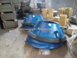 Kegel-Zerkleinerungsmaschine-hohes Mangan-tragende Teile konkav und Umhang