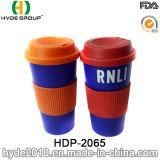 De draagbare Vrije Plastic Mok van de Koffie BPA (hdp-2065)
