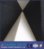 Painel acústico 3D de fibra de poliéster da alta qualidade