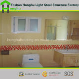Camera prefabbricata domestica prefabbricata elegante del contenitore della Camera di basso costo