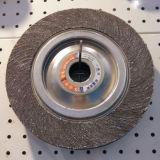 Roda abrasiva da aleta do núcleo de madeira para o polonês do aço inoxidável