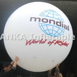 LEDは気球膨脹可能なPVC気球をつける