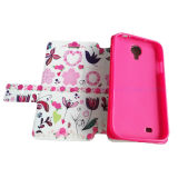 Kundenspezifischer Painting Flip Cover Leather Handy Cover Handy Fall für iPhone 6