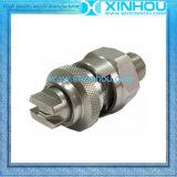 La resistencia da alta temperatura aprisa conecta el inyector de ventilador plano
