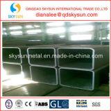 Tubo vuoto pesante dell'acciaio della sezione di Retangular di spessore della parete