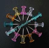 O punho regular deu forma a Pin principal plástico do impulso das aderências de polegar (P160125B)