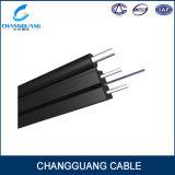Cabo pendente Self-Supporting do cabo de fibra óptica da fonte GJYXFCH da fábrica com 2 fios da força