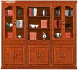 Meubles modernes chinois en bois de Module de livre de bureau de placage (HY-C903)