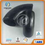 Ajustage de précision de pipe convenable soudé par bout de coude d'acier du carbone d'ASME B16.9 (KT0287)