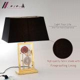 Hotel-dekorative künstlerische Entwurfs-Edelstahl-Nachttisch-Lampe